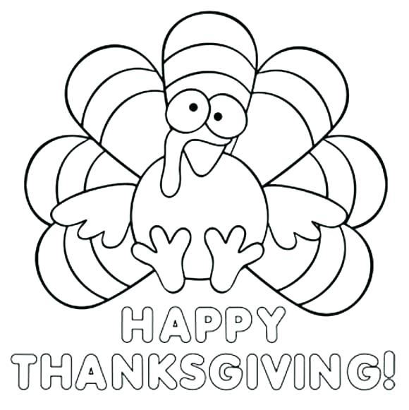 580x581 Feather Coloring Pages Turkey Coloring Pages Free Printable Turkey