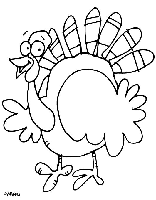 531x679 Free Turkey Coloring Pages Free Printable Turkey Coloring