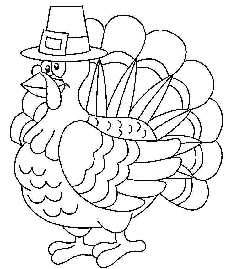 720x857 Download Turkey Body Coloring Page Colouring Pages