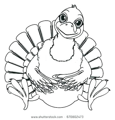 448x470 Head Coloring Page Coloring Page Turkey Body Sit Pictures Of Heads