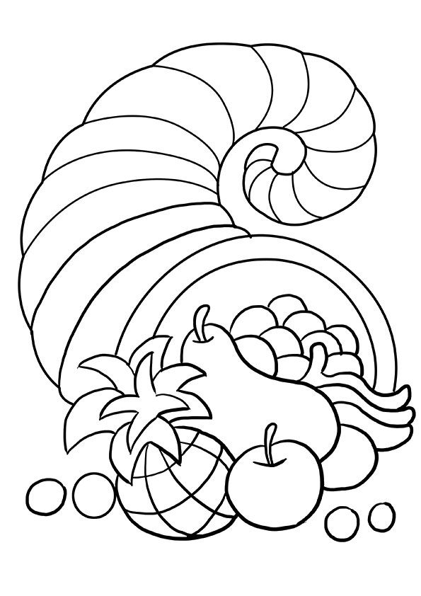 Turkey Coloring Pages For Kindergarten