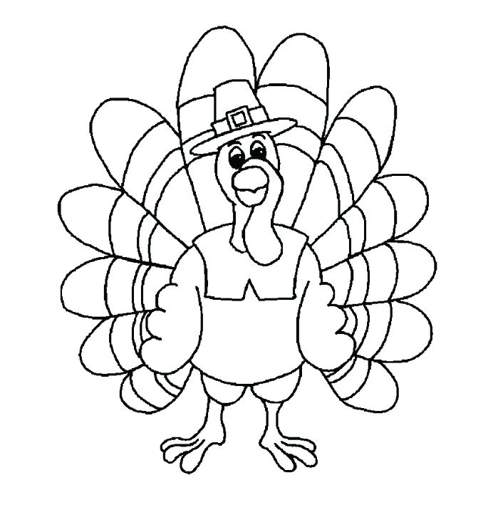 692x733 Turkey Coloring Pages For Preschoolers Best Turkey Coloring Pages