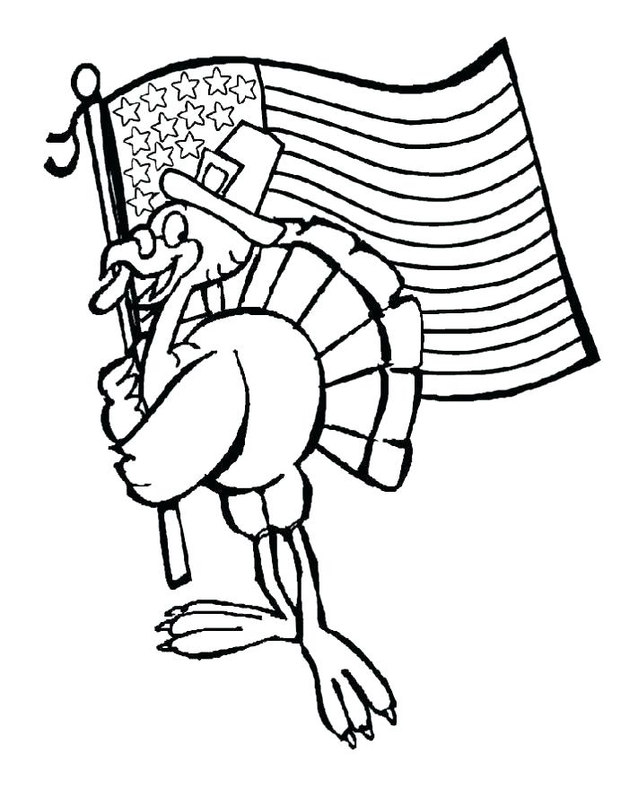 711x888 Turkey Coloring Pages Preschool Best Election Day Images On Free