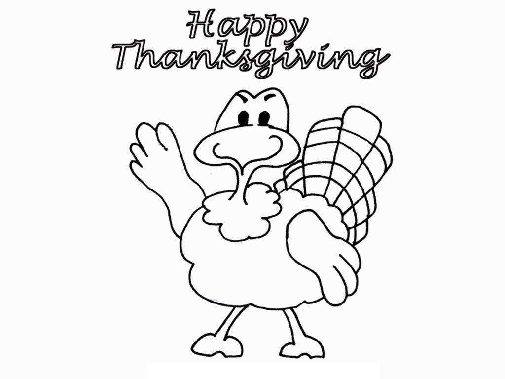 1024x768 Printable Thanksgiving Coloring Pages For Kids
