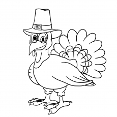 230x230 Top Free Printable Thanksgiving Turkey Coloring Pages Online