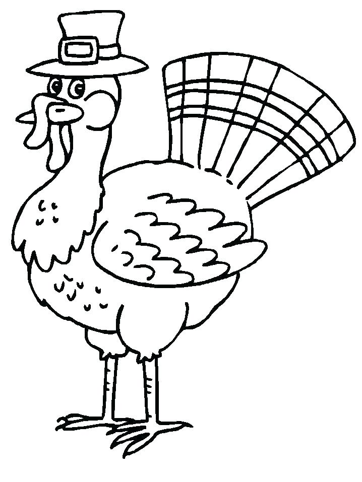 718x957 Turkey Coloring Pages Free Printable Turkey Coloring Pages