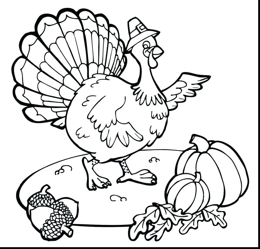 863x826 Turkey Coloring Pages Free Turkey Coloring Page Coloring Pages