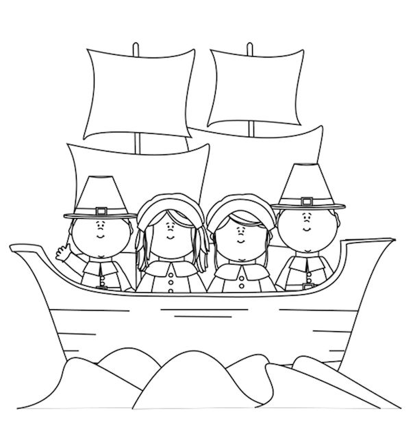 Turkey Coloring Pages Kids