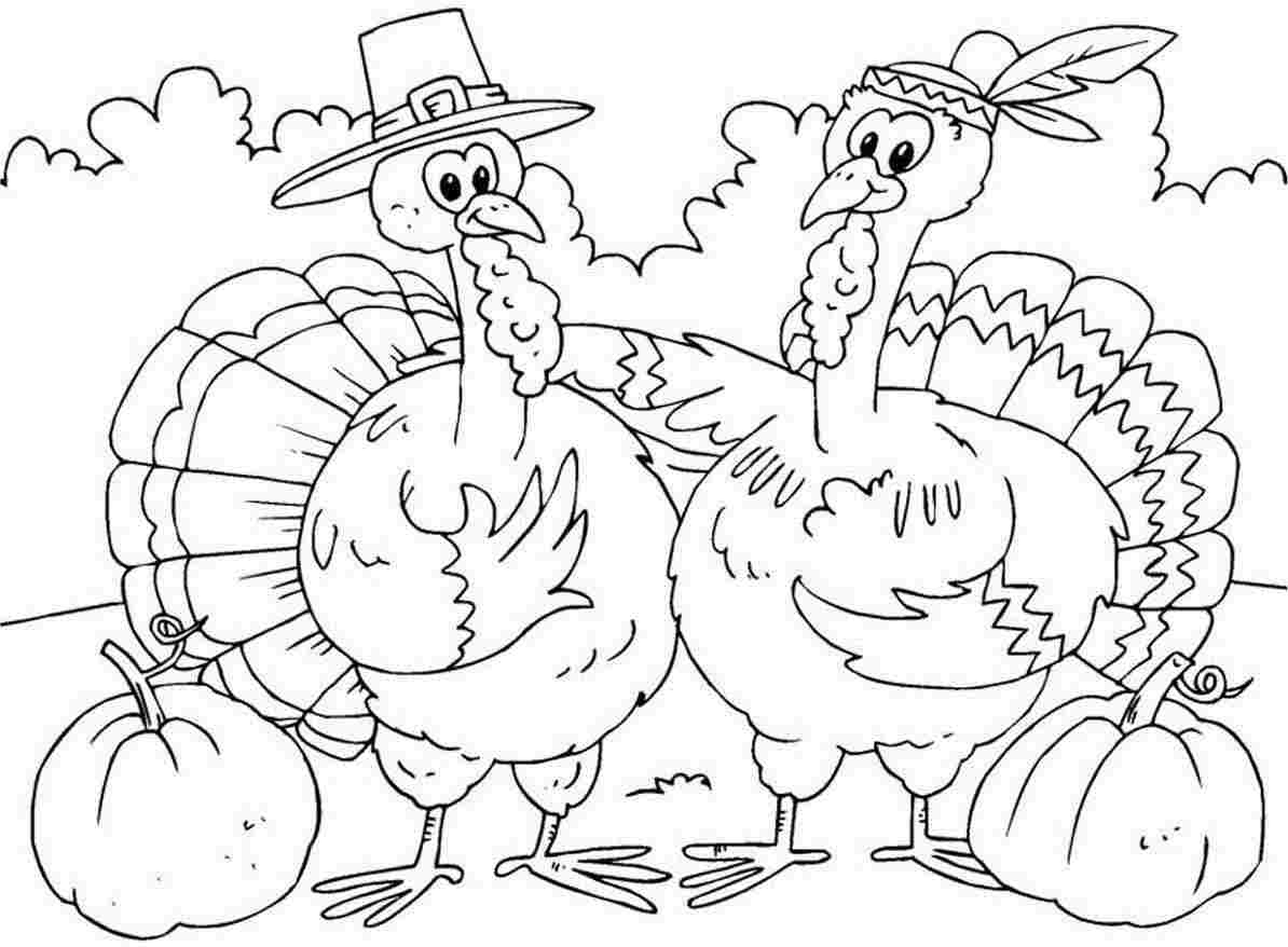 Turkey Coloring Pages Kids at GetDrawings.com | Free for personal ...