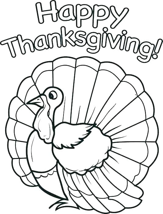 534x700 Printable Coloring Pages Thanksgiving Thanksgiving Printable
