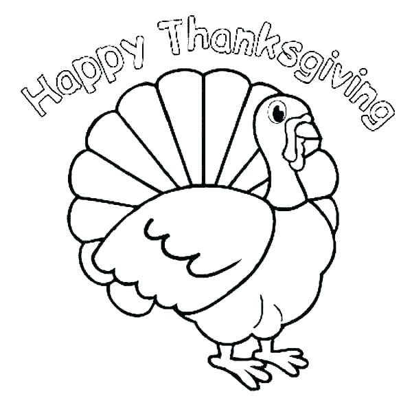 600x583 Christian Thanksgiving Coloring Pages Turkey Coloring Pages Free