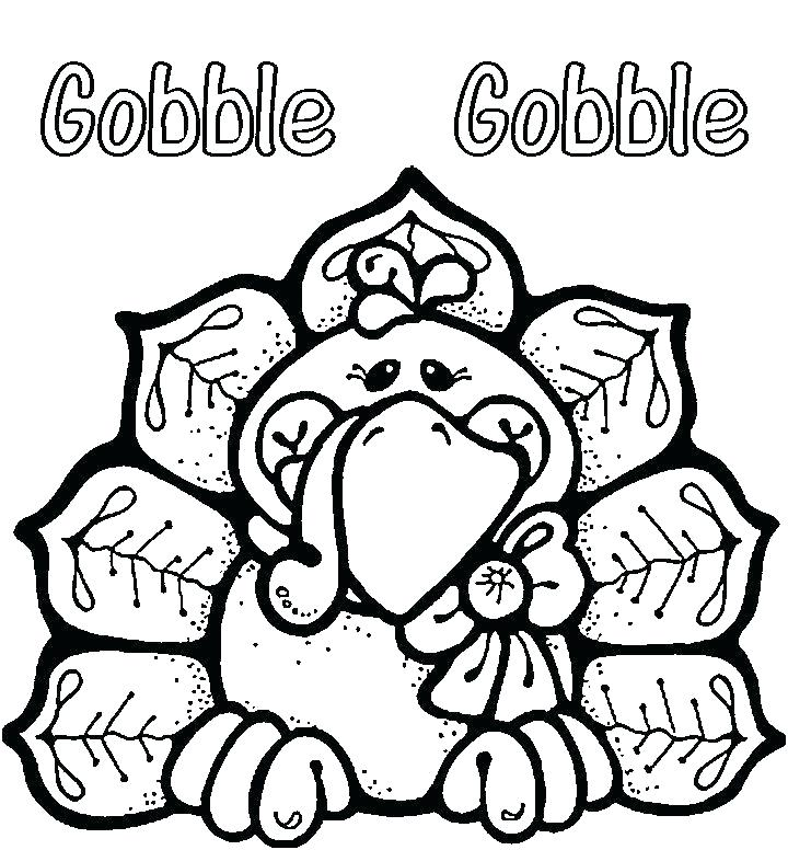 720x776 Free Printable Thanksgiving Coloring Pages For Preschoolers