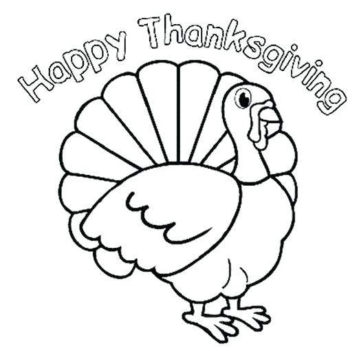 522x510 Thanksgiving Turkey Coloring Page Marvelous Ideas Thanksgiving
