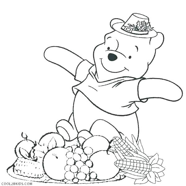 600x600 Thanksgiving Turkey To Color With Coloring Pages Turkey Printable