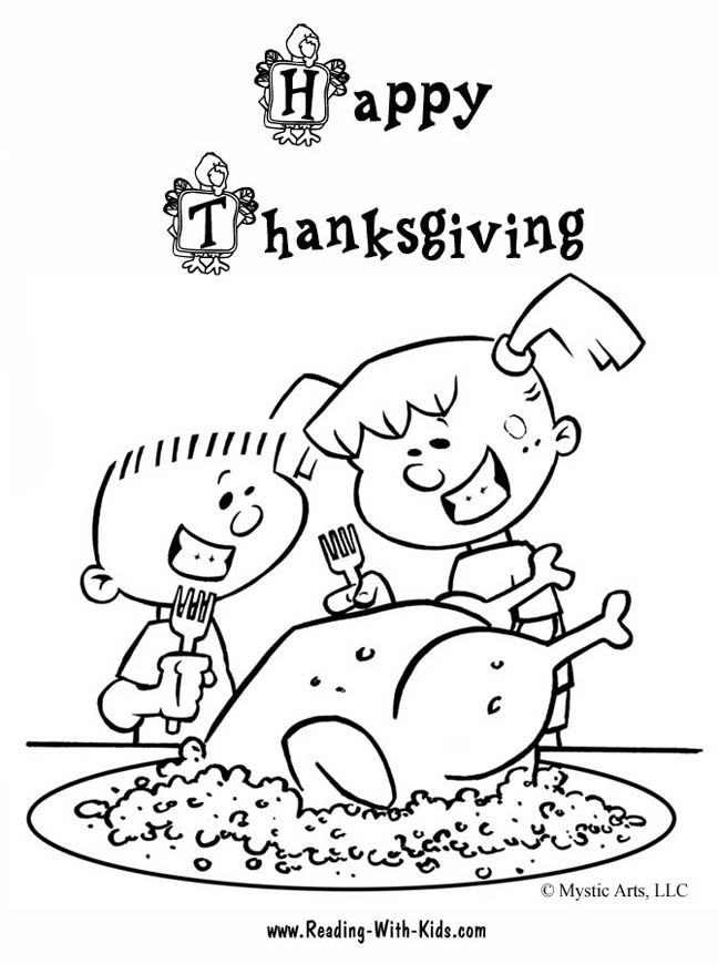 648x870 Thanksgiving Coloring Pages And Puzzles School Fun