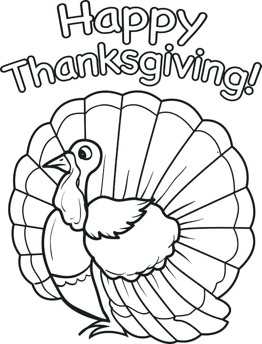 534x700 Coloring Page Of Turkey Free Printable Thanksgiving Coloring Pages