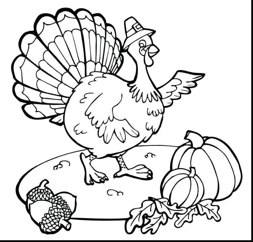 Turkey Face Coloring Page at GetDrawings | Free download
