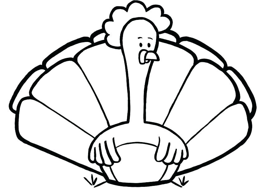 835x624 Free Turkey Coloring Page Feather Coloring Page Printable Turkey