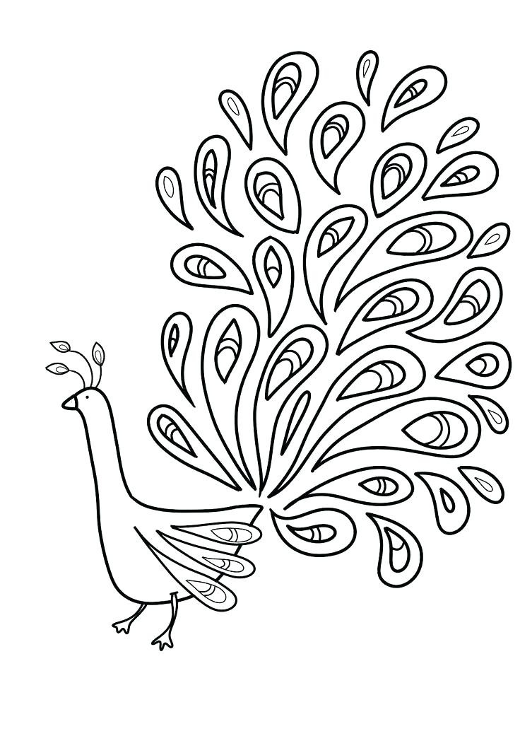 736x1041 Turkey Feather Coloring Pages Best Of Peacock Feather Coloring