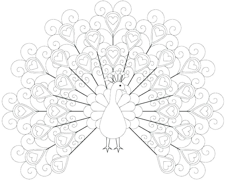 920x736 Turkey Feathers Coloring Pages Feather Coloring Page Printable