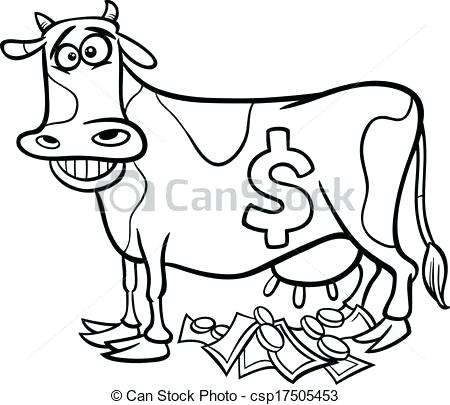 450x405 Cow Head Coloring Page Cash Cow Saying Coloring Page Turkey Head