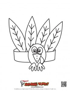 231x300 Best Photos Of Turkey Head Coloring Page
