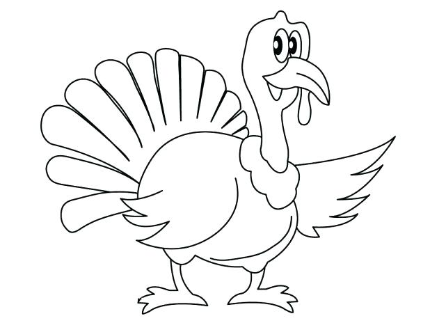 618x464 Turkey Color Page Turkey Color Page Free Printable Coloring Pages