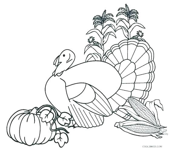 585x500 Coloring Pages Of Turkeys Funny Turkey Coloring Pages New Coloring