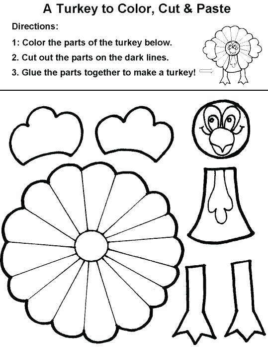 539x696 Coloring Pages Turkey Turkey Outline Coloring Page Pictures Turkey
