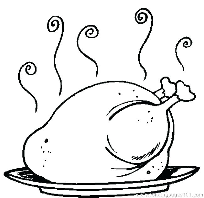 650x631 Turkey Coloring Pages For Kids Printable Turkey Coloring Pages