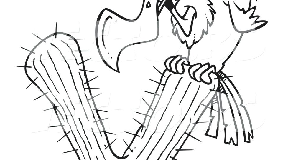 960x544 Vulture Coloring Pages Cartoon Vulture Coloring Page Vector