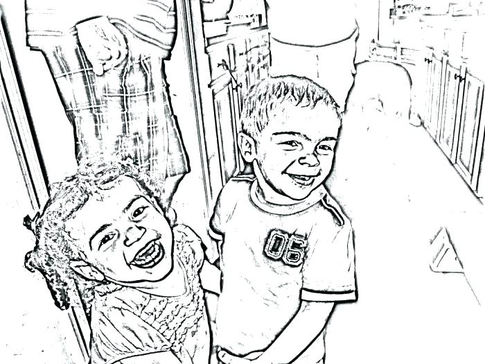 700x525 Turn Photo Into Coloring Page Together With Turn Photo Into
