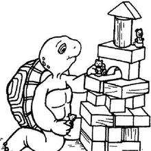 220x220 Franklin Turtle Coloring Pages