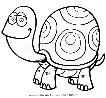 450x414 Ninja Turtle Coloring Book Cartoon Turtle Coloring Pages Turtle