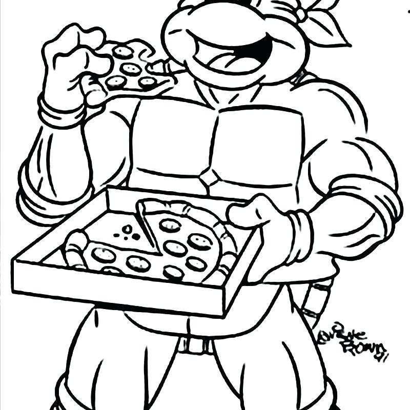800x800 Ninja Turtles Printable Coloring Pages Ninja Turtle Cartoon