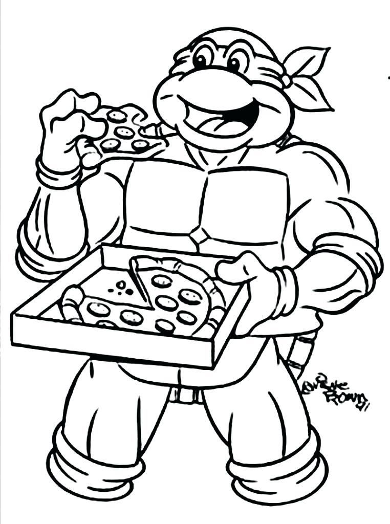 762x1024 Cartoon Coloring Pages Printable Ninja Turtle Cartoon Coloring