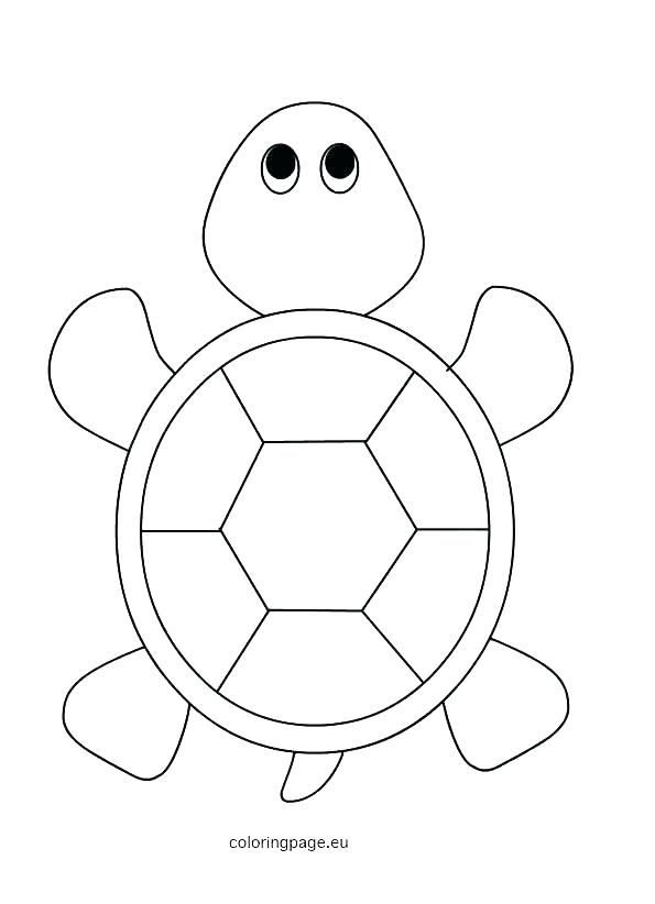 595x822 Cartoon Turtle Coloring Pages Turtle Coloring Page Sea Turtle