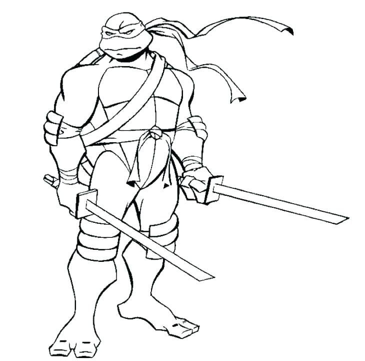730x721 Printable Ninja Turtle Coloring Pages Free Printable Ninja Turtle