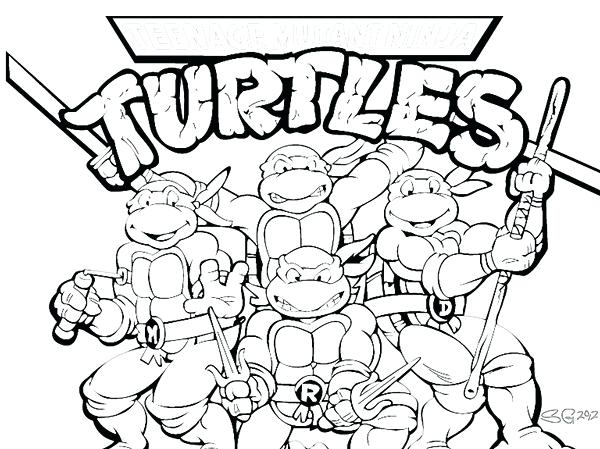 600x449 Tmnt Coloring Pages Tmnt Coloring Pages Preschool For Sweet Print