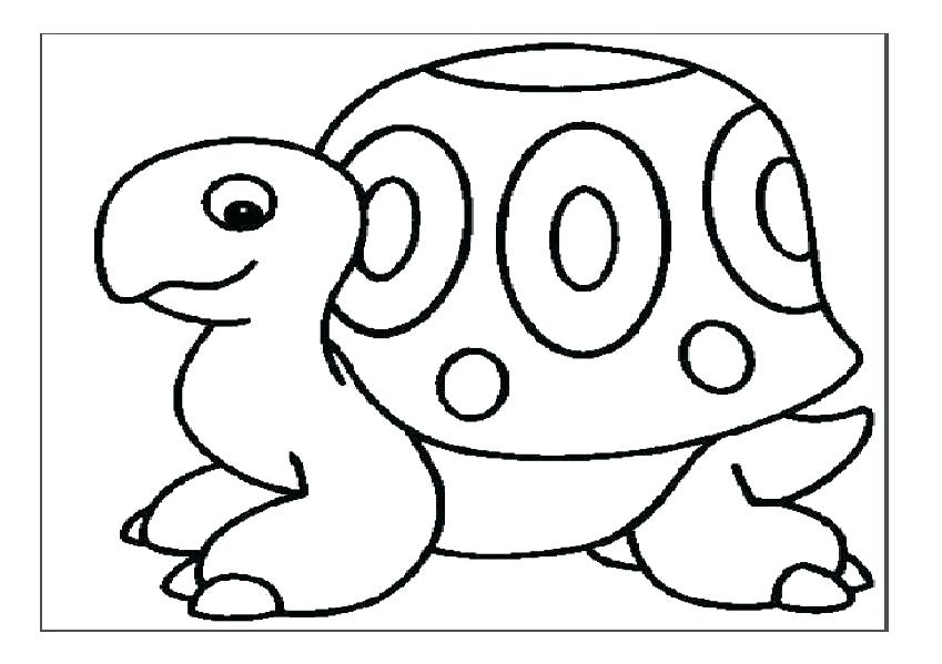 turtle coloring pages for preschoolers 31
