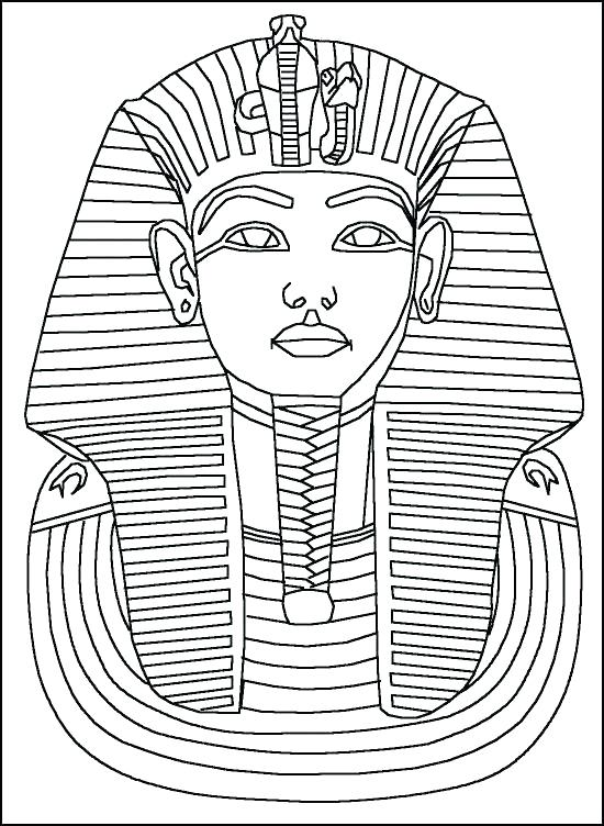 Tutankhamun Coloring Page at GetDrawings | Free download