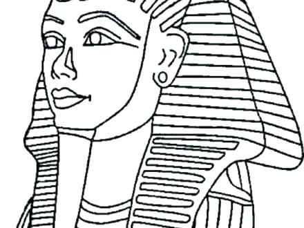 440x330 King Tuts Tomb Coloring Page Printable Coloring King Tut Coloring