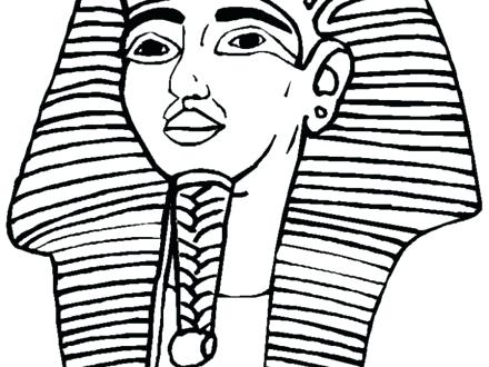 440x330 King Tut Coloring Pages