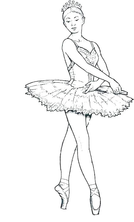 453x749 Ballet Dancer Coloring Page Ballet Tutu Ballet Tutu Coloring Page