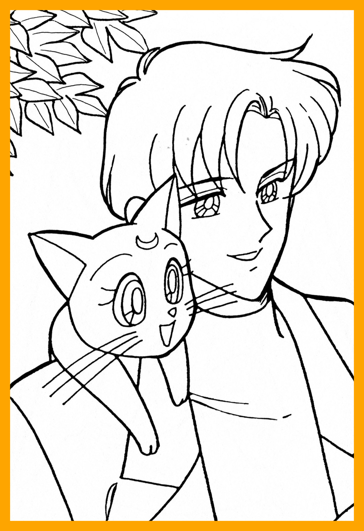 tuxedo coloring pages - photo#23