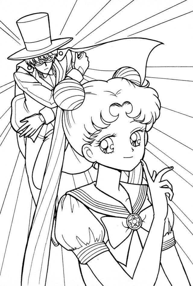 640x949 Sailor Moon Sailor Moon And Sailor