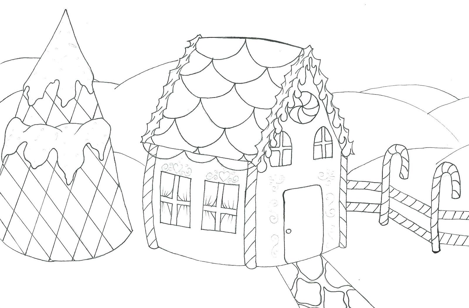 1600x1050 Fullse Tv Show Coloring Pages Free Printable Fine Full House