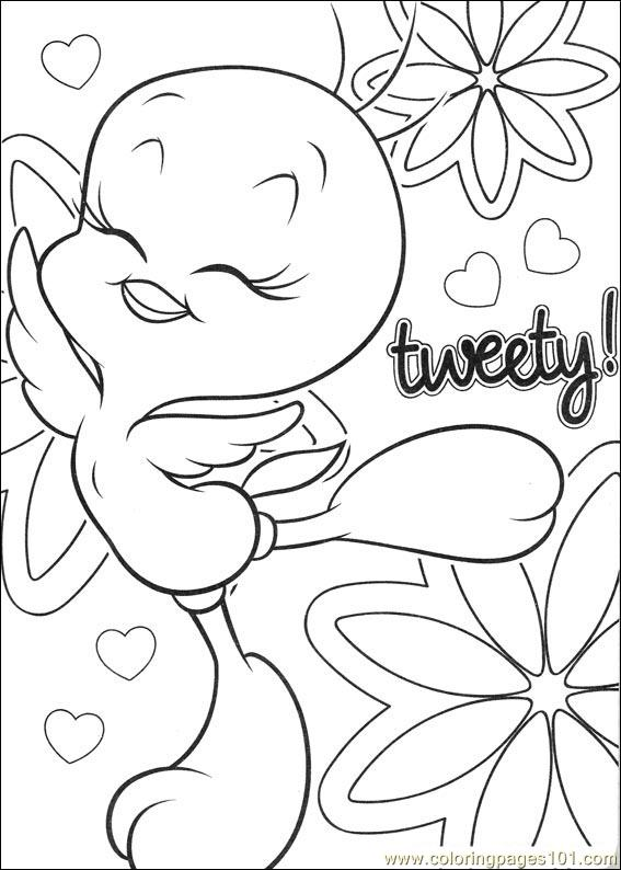 Tweety Bird Coloring Pages At Getdrawings Com Free For Personal