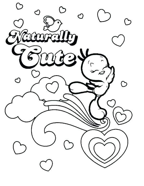 600x774 Tweety Bird Coloring Pages Bird Coloring Pages Bird Coloring Pages