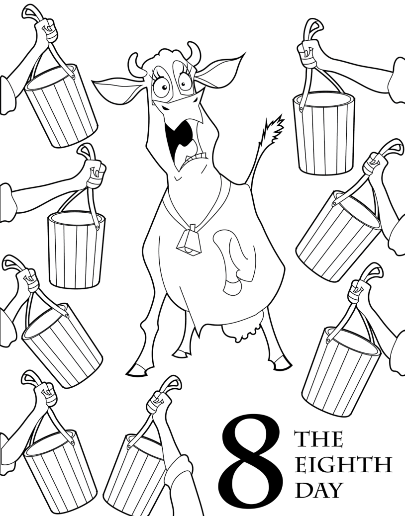 Twelve Days Of Christmas Coloring Pages at GetDrawings.com | Free ...